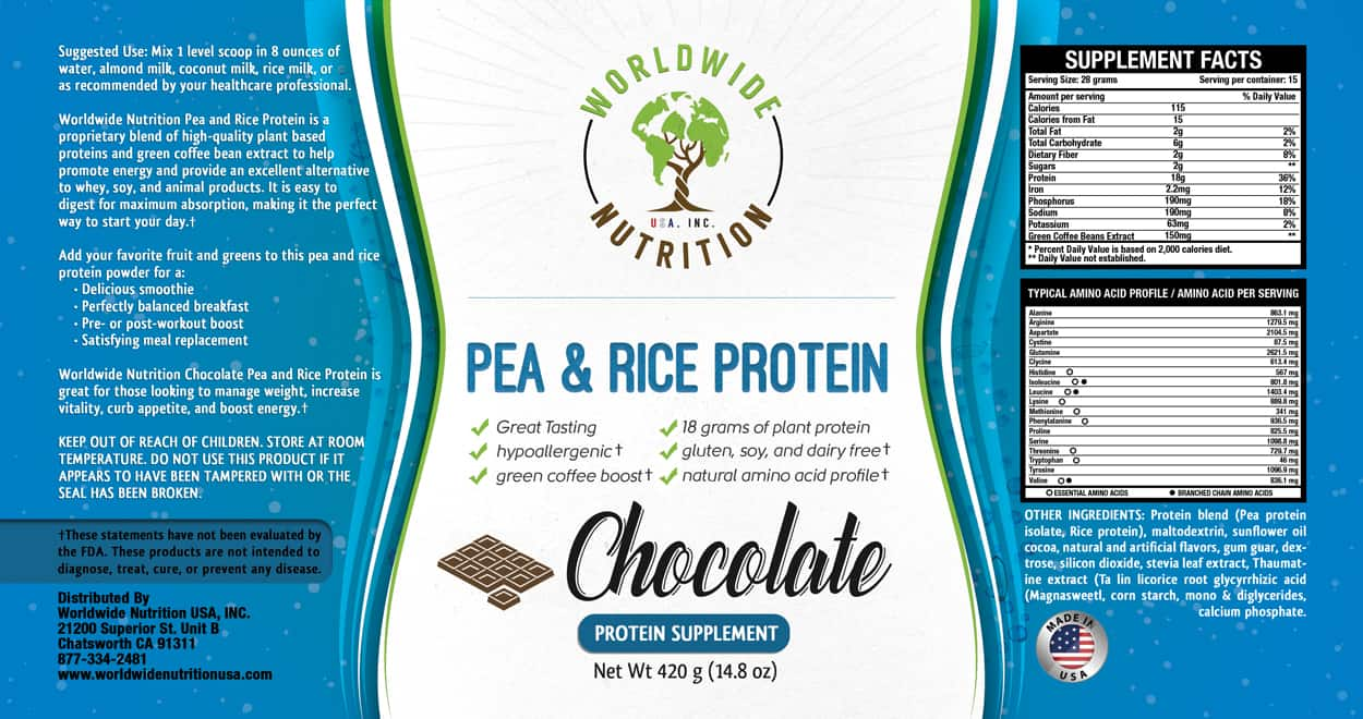 Worldwide nutrition label designs branched off for Home ingredients design