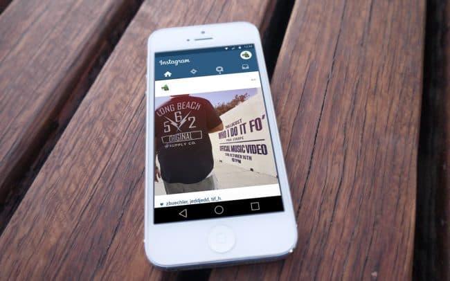 tha locust - who i do it fo' - instagram ad design