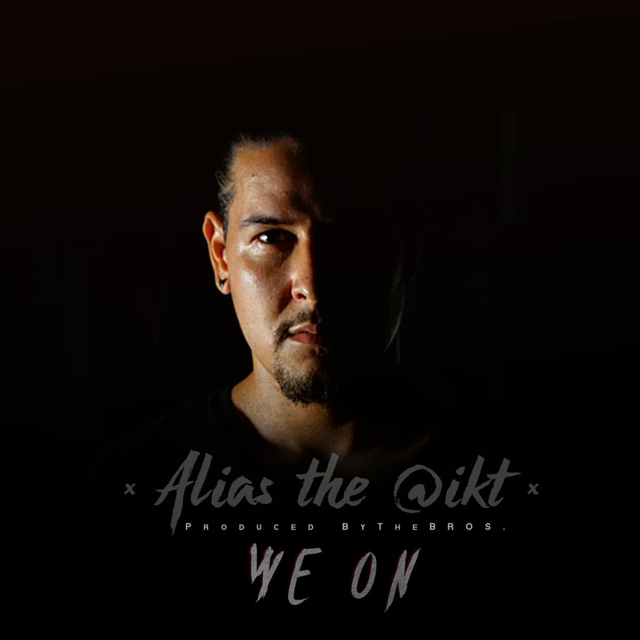 alias the @ikt - we on - album art design