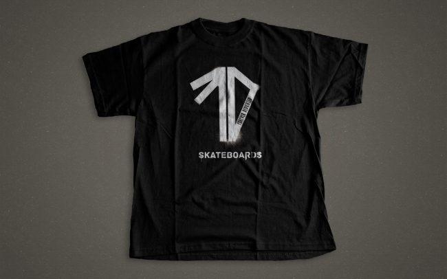 forever dedicated - spraypaint - t-shirt design