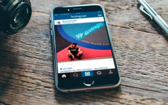 stay illuminated - instagram ad design