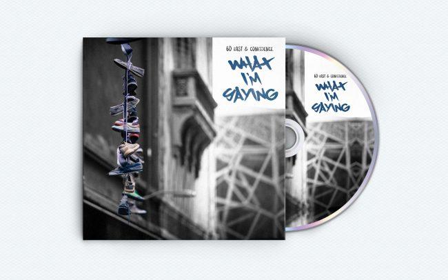 60 east - what i'm saying - album art design