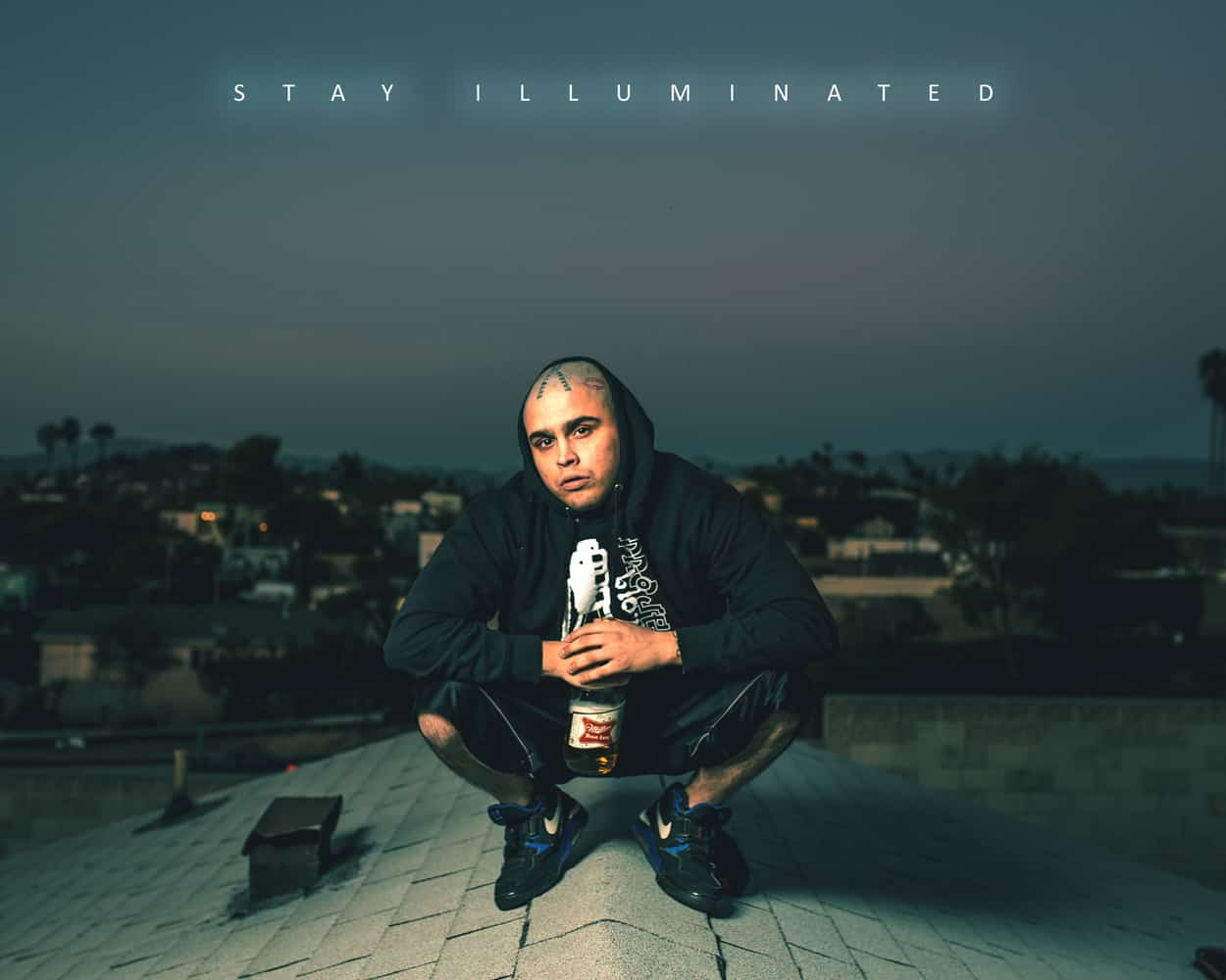 stay illuminated - ynoe - instagram ad design