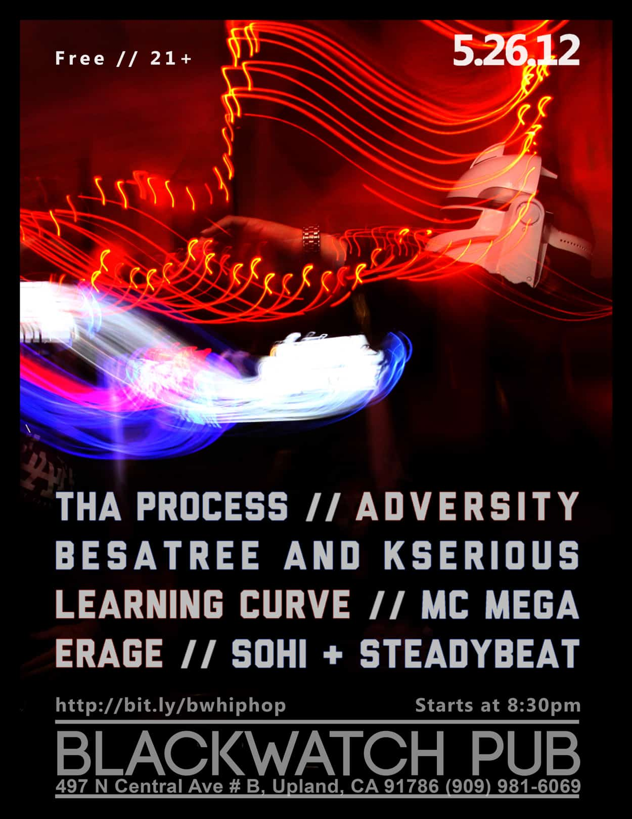 tha process - flyer design