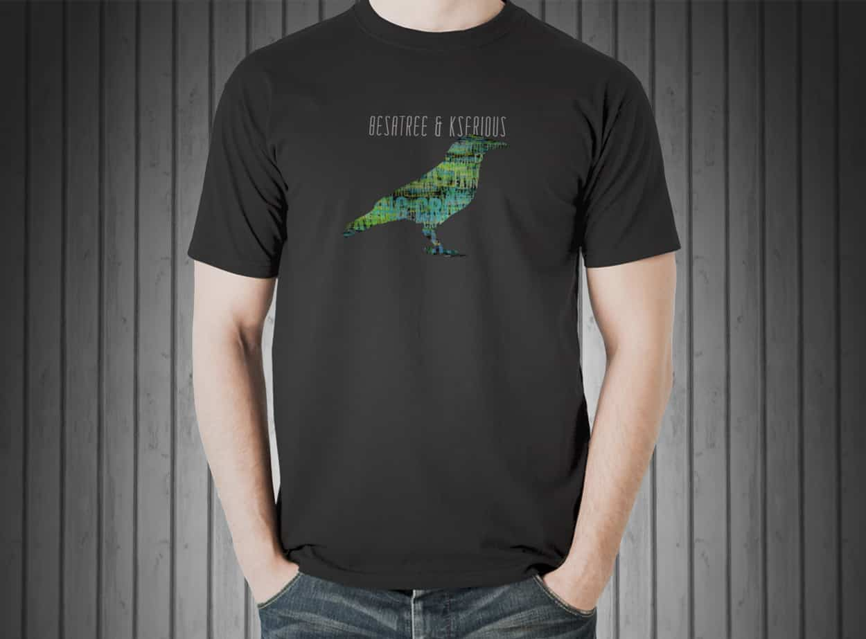 besatree and kserious - shirt design