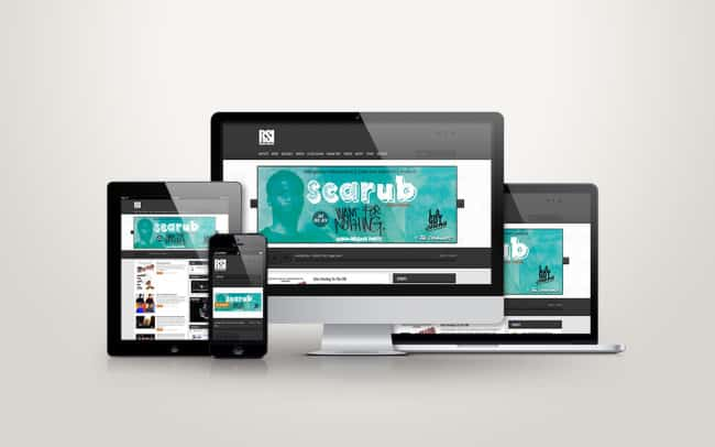 risingsons independent - responsive website design