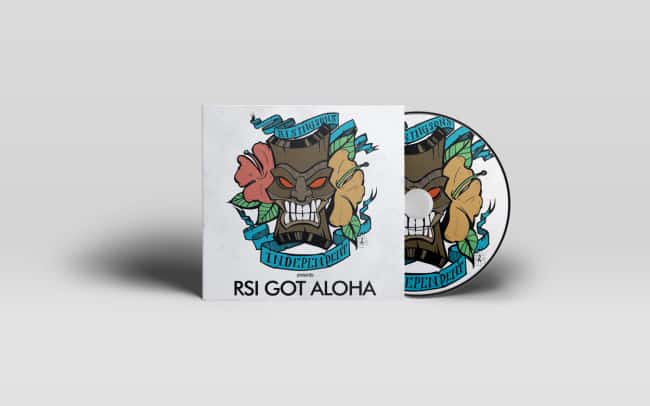 rsi got aloha - album art design