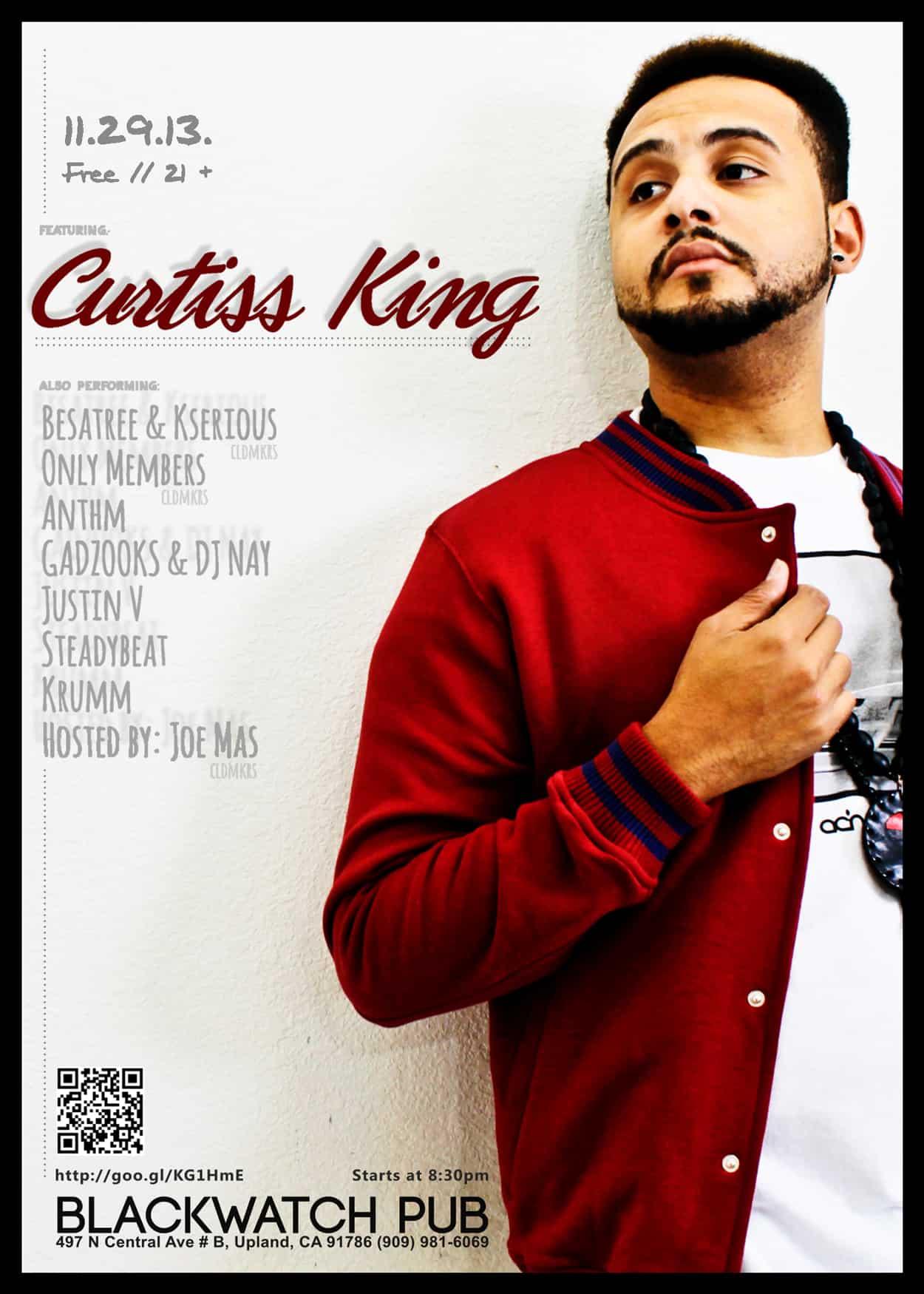 curtiss-king - flyer-design