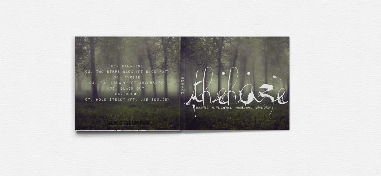 thehaze - album art design
