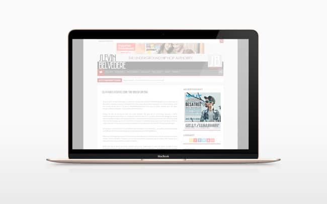 newsletter - online advertisement design