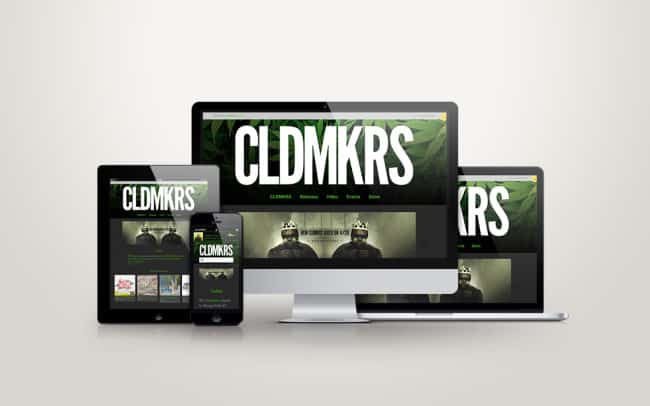cldmkrs - website design - client