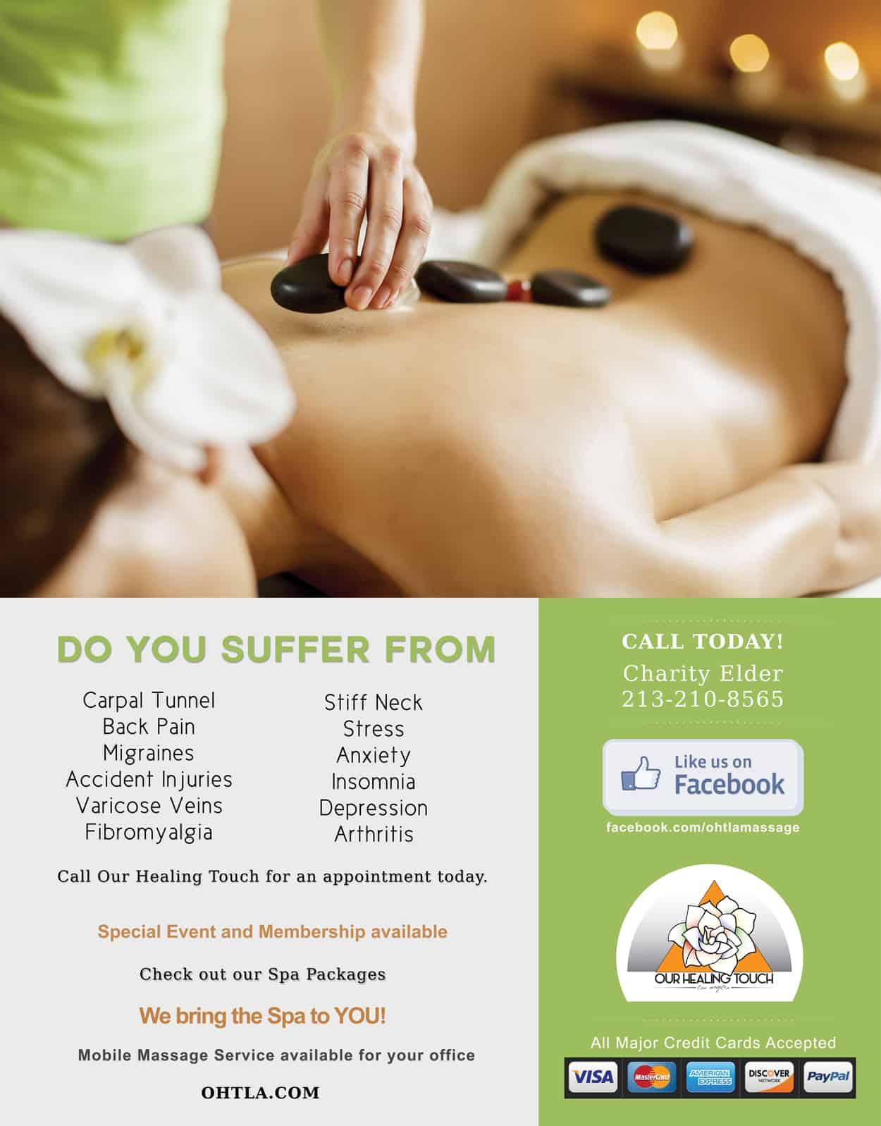 ohtla - full page magazine ad design