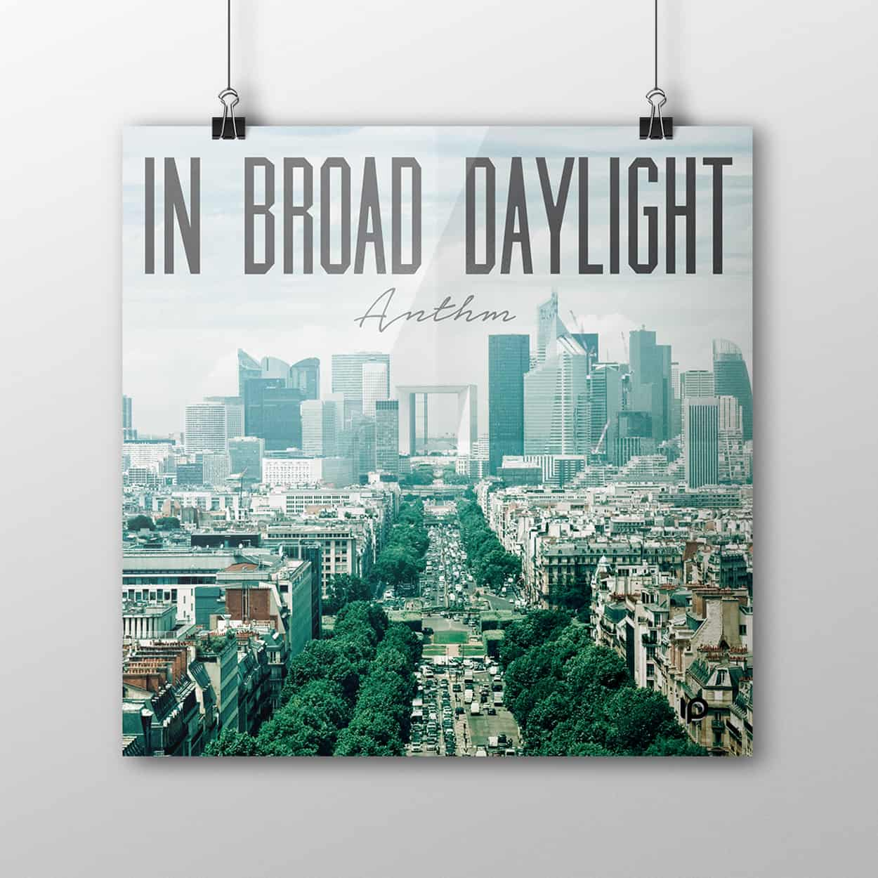 in broad daylight - poster design
