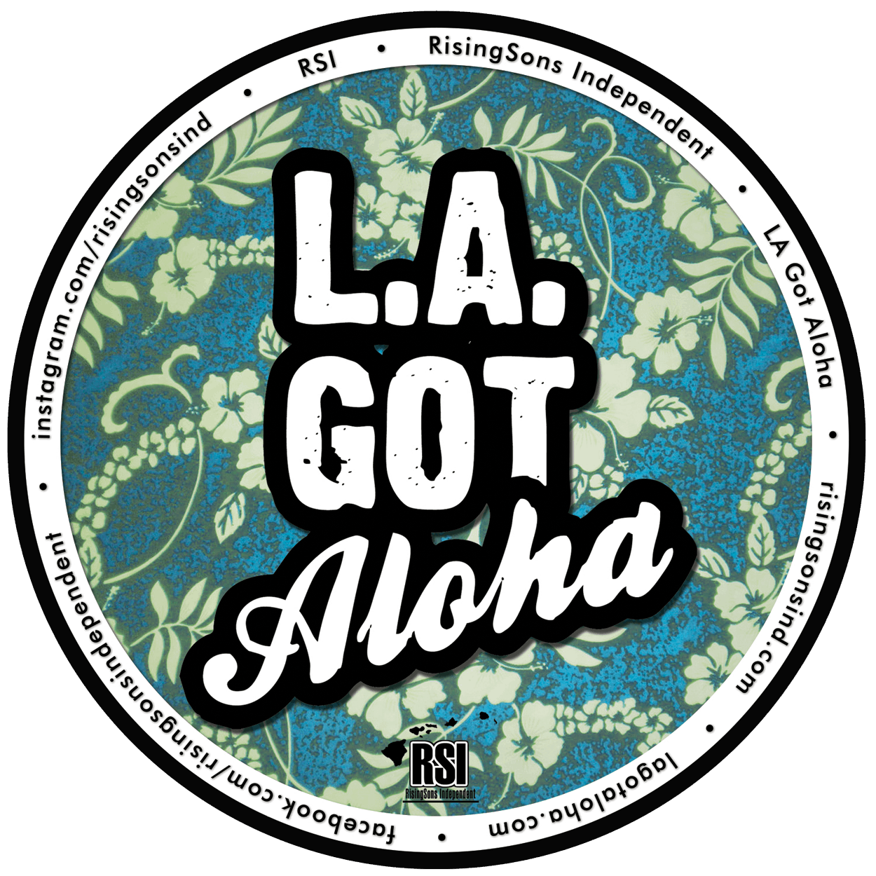 la got aloha t-shirt design