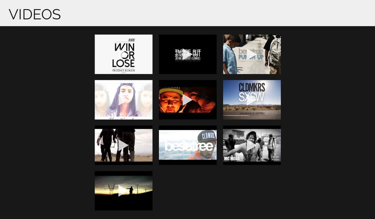 besatree - website design - videos