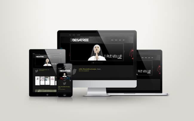 besatree - website design