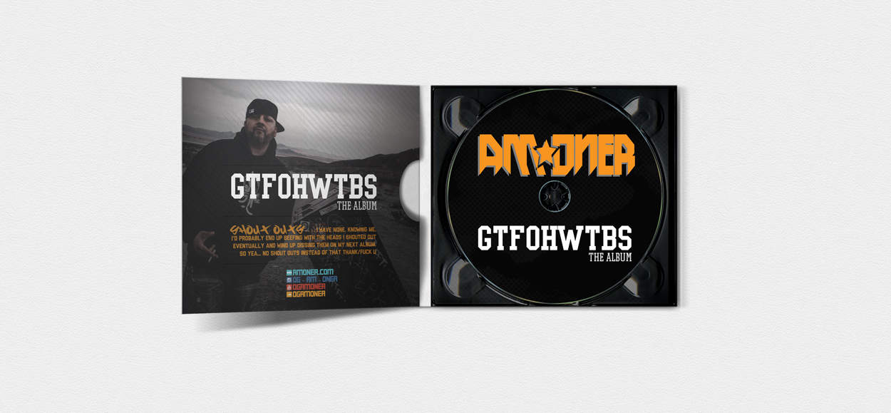 am oner - gtfohwtbs - album art design - inside photo