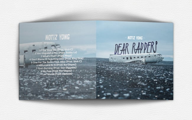 Notiz-Yong---Dear-Rappers---Album-Art-Design---back