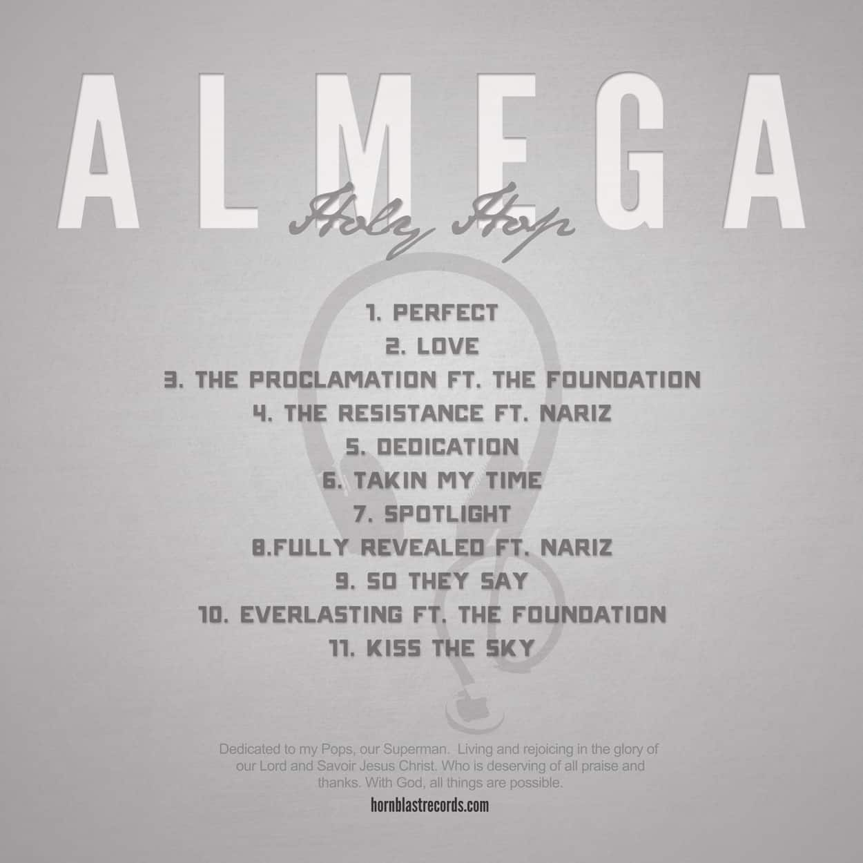 almega - album art design