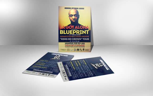 blueprint - flyer design - photo