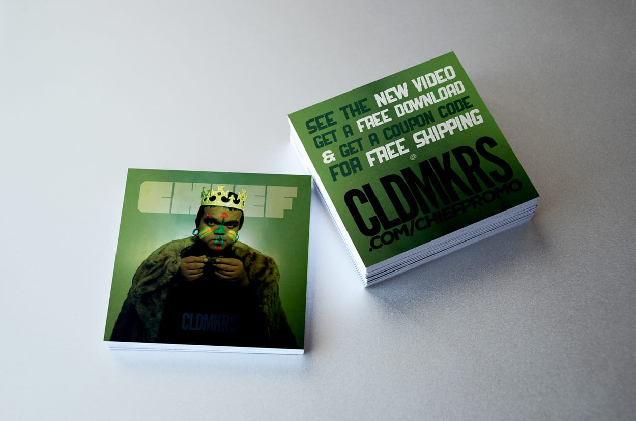 cldmkrs - chief - print ad design