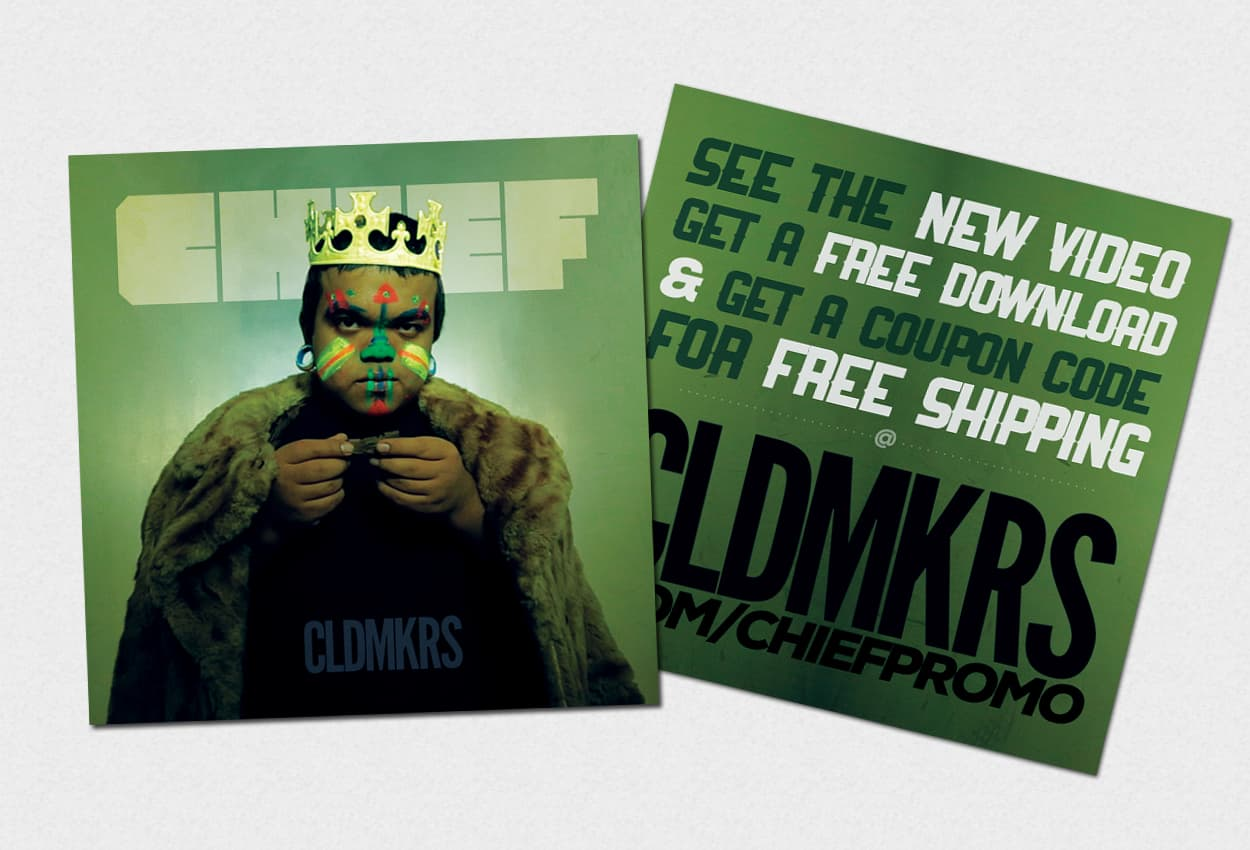 cldmkrs - chief - print ad design
