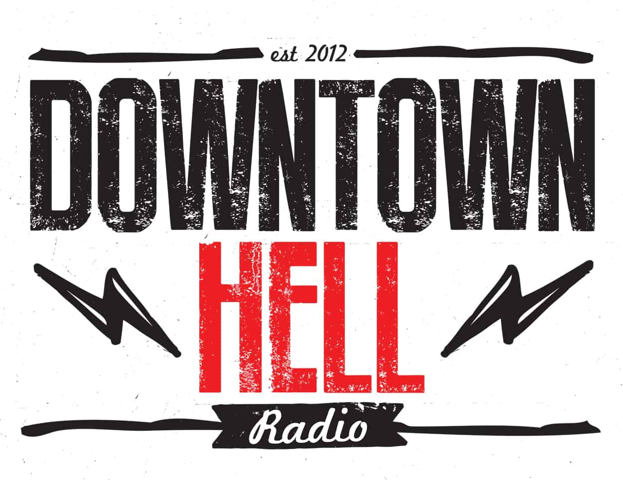 downtown hell - logo design