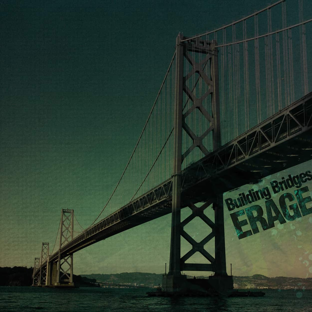 erage - building bridges - album art design