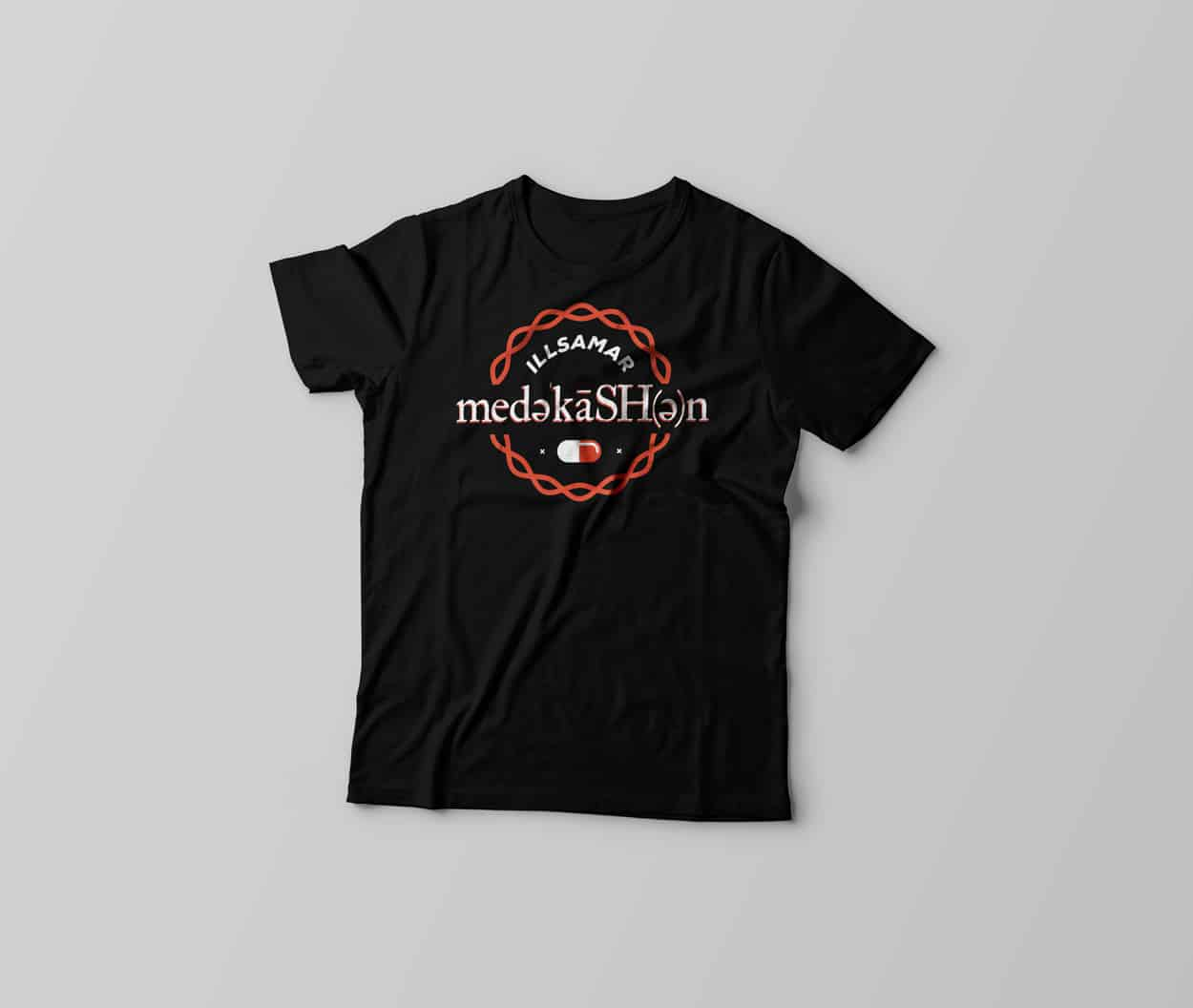 illsamar - medekeshen - t-shirt design - photo