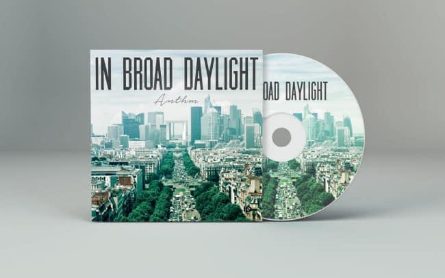 in broad daylight - album art design