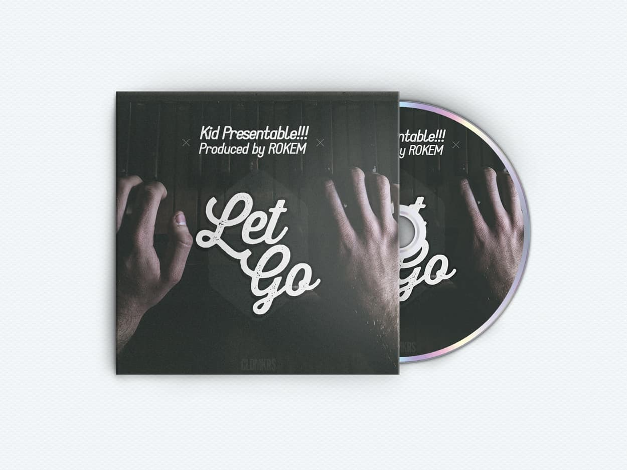 let go - album art design - photo