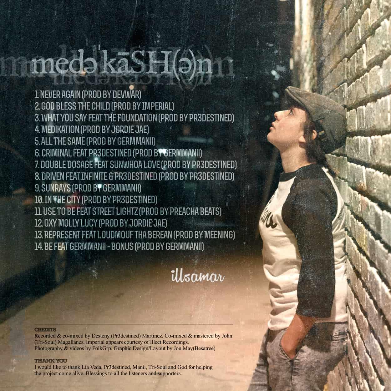 illsamar - medekashen - album art design