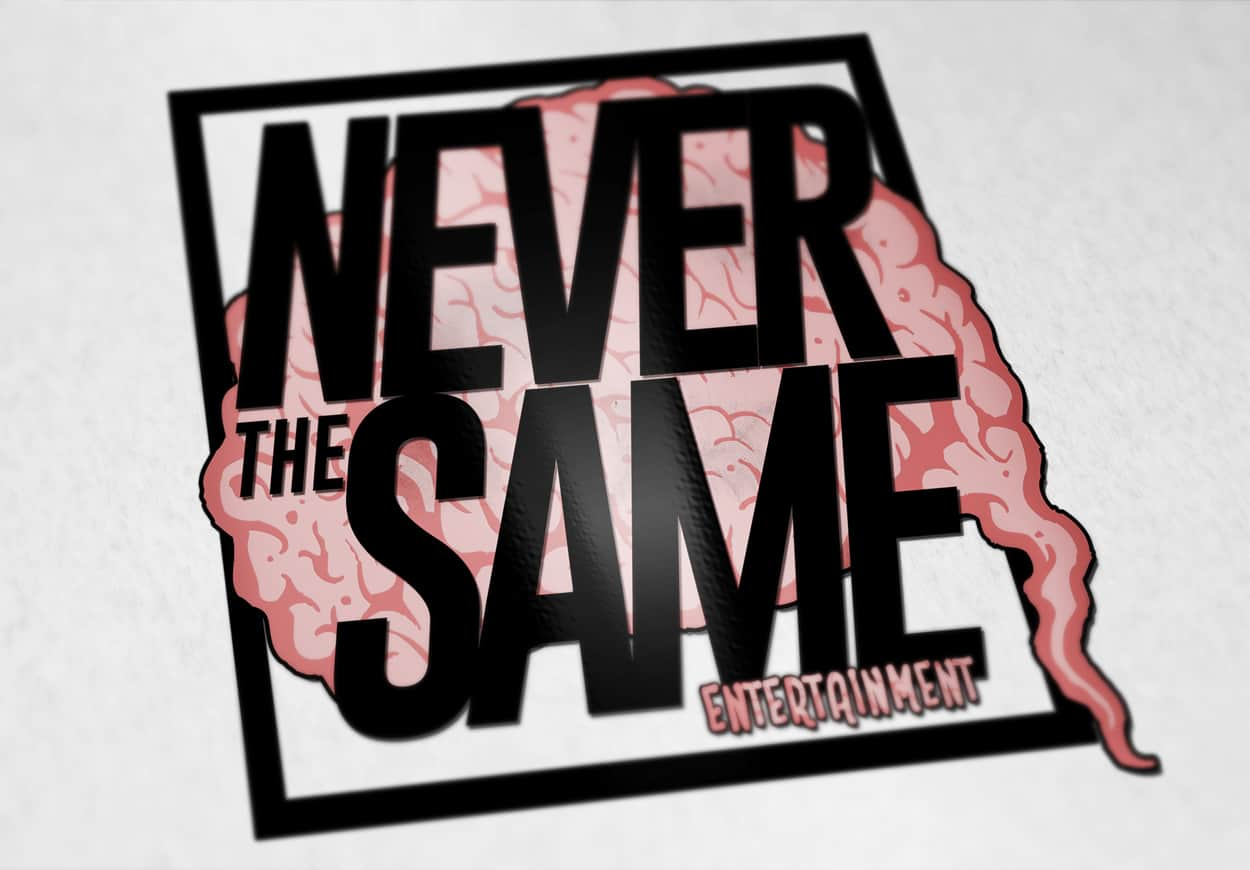 never the same entertainment - logo design