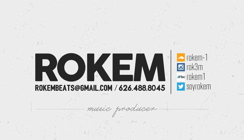 Rokem - Business Card Design