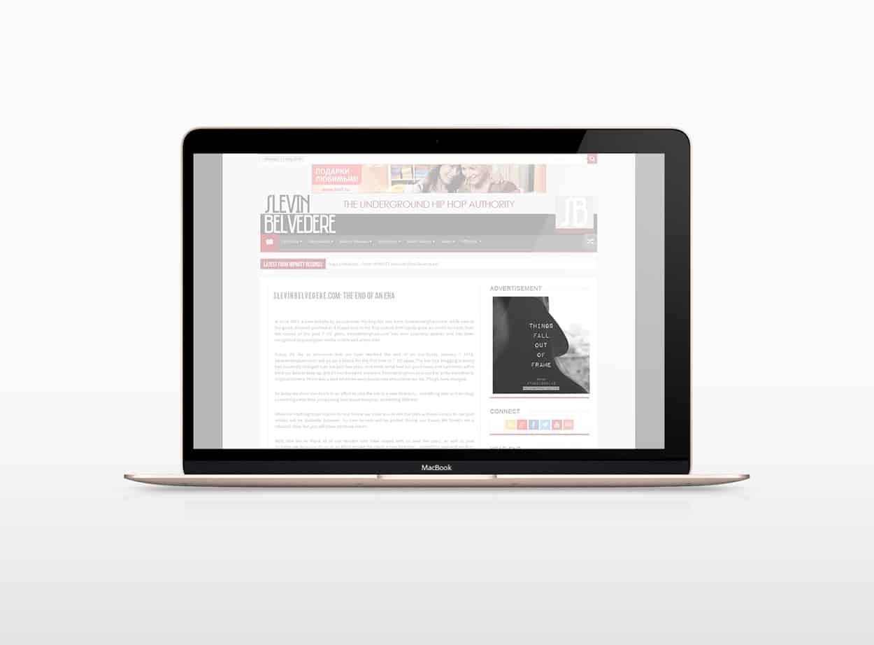the dissolve - online ad design