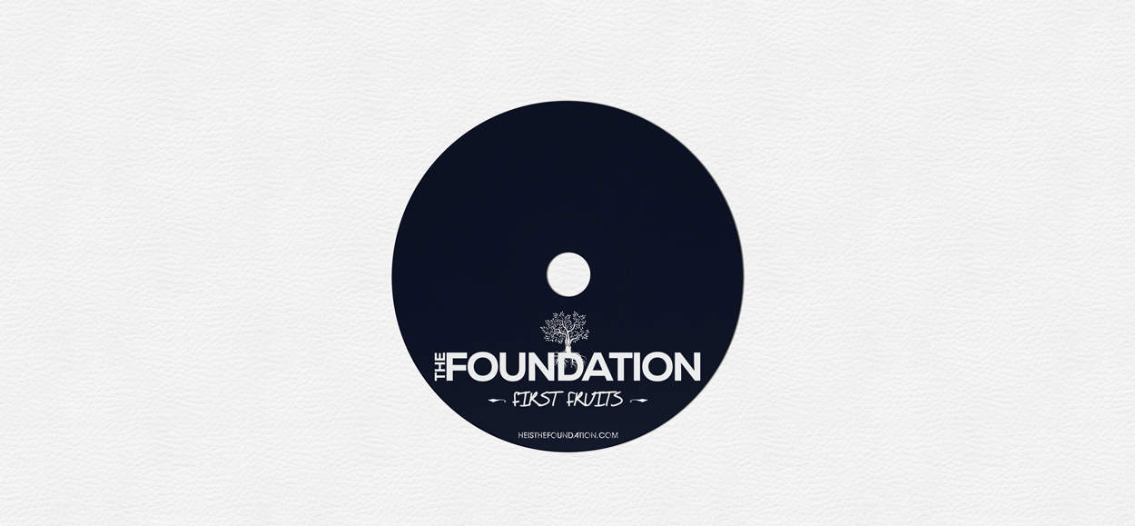 the foundation - album art design - disc