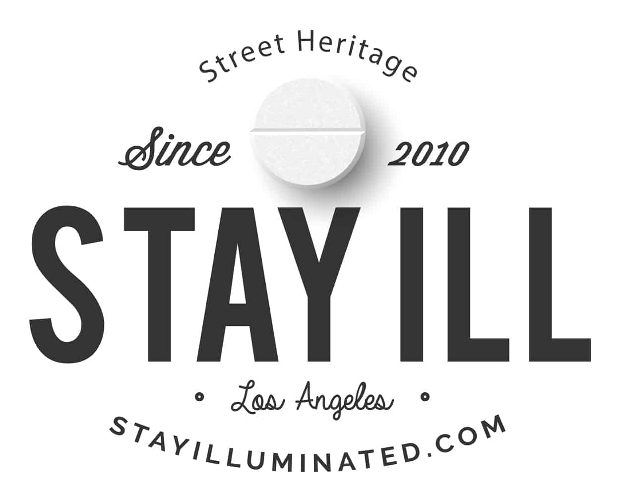 stay illuminated - stay ill - t-shirt design