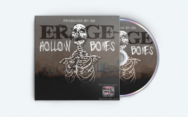 erage -hollow bones - album art design - photo