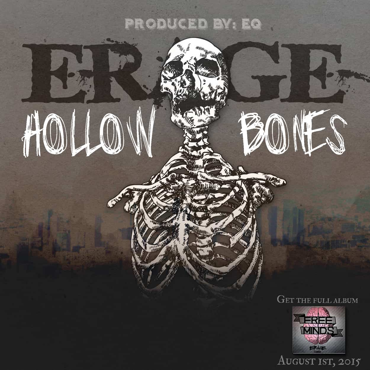 erage -hollow bones - album art design