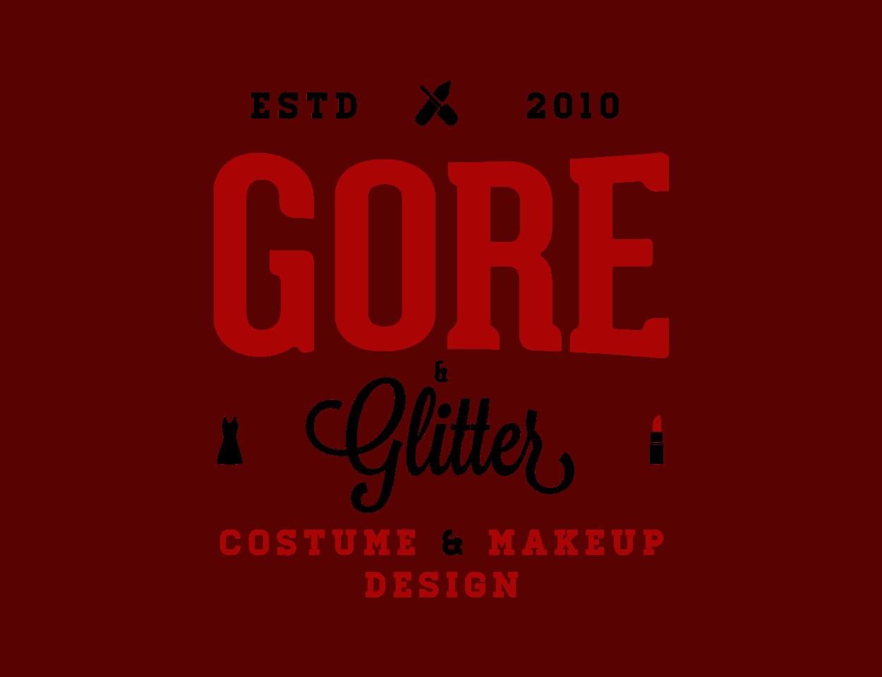 gore & glitter - logo design