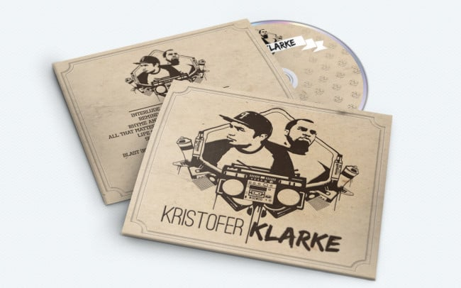 kristofer klarke - album art design