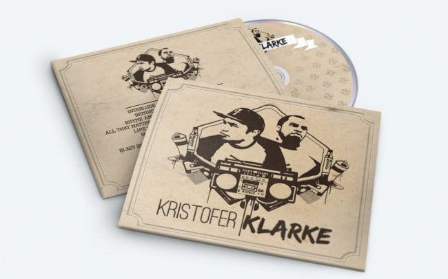 kristofer klarke - album art design