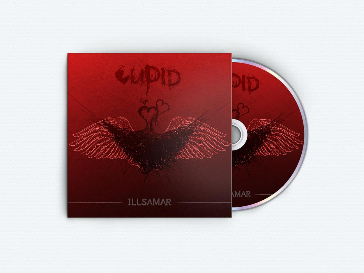 illsamar - cupid - album art design