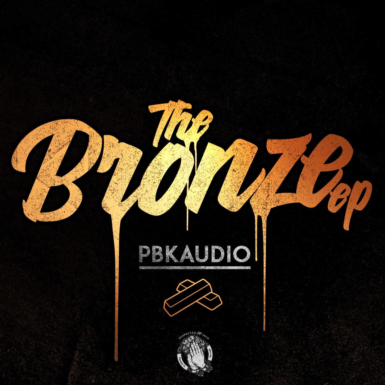 pbkaudio - the bronze ep - album art design