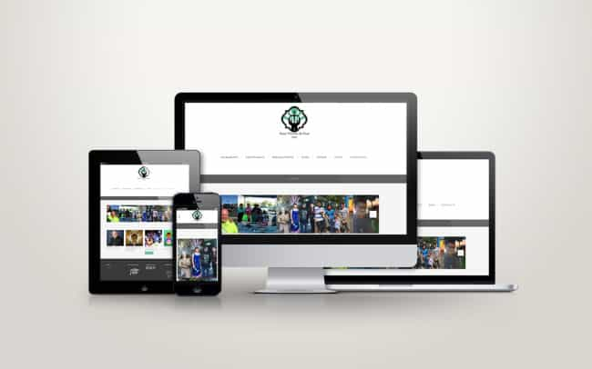 st vincent la - responsive website design