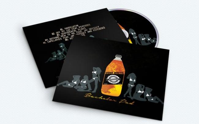 danny beretta - bachelor pad - album art design