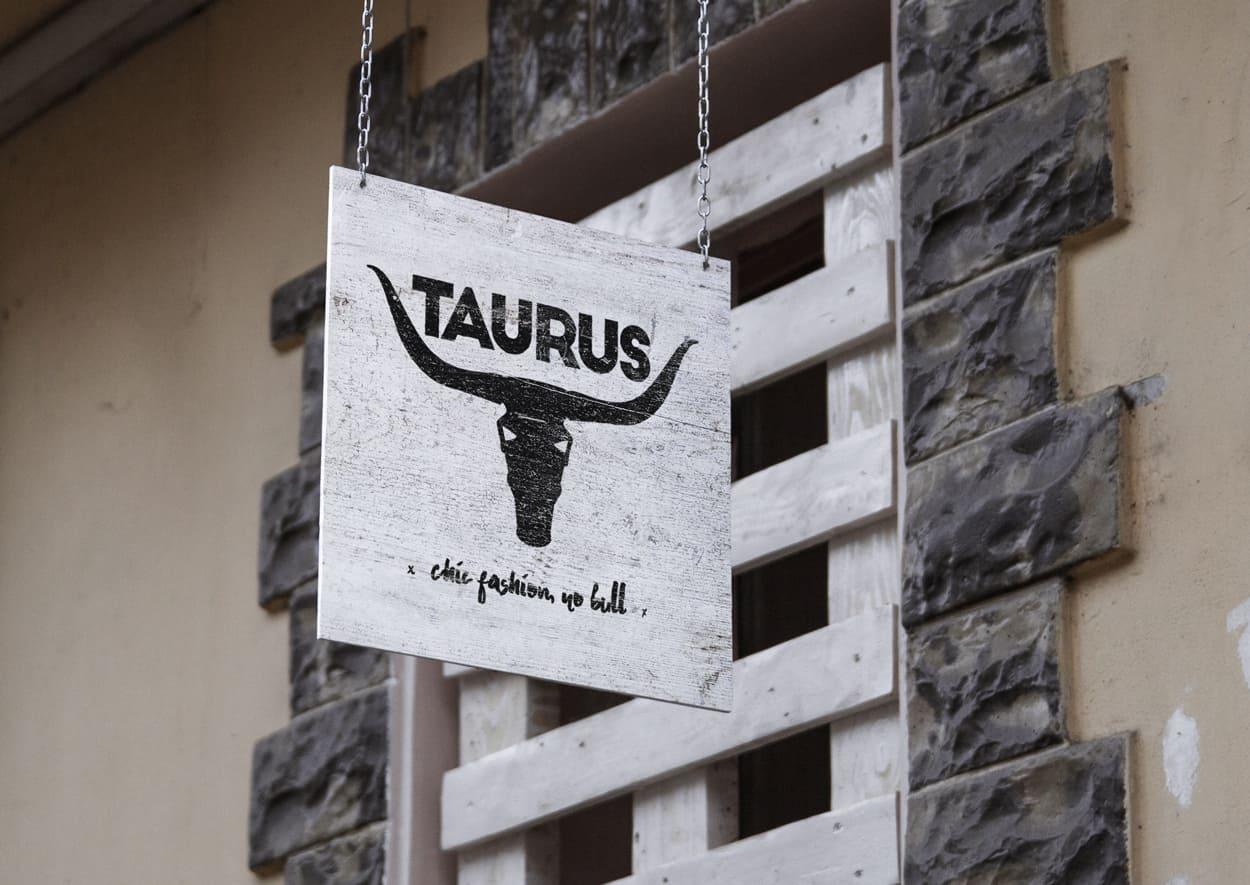 taurus - logo design
