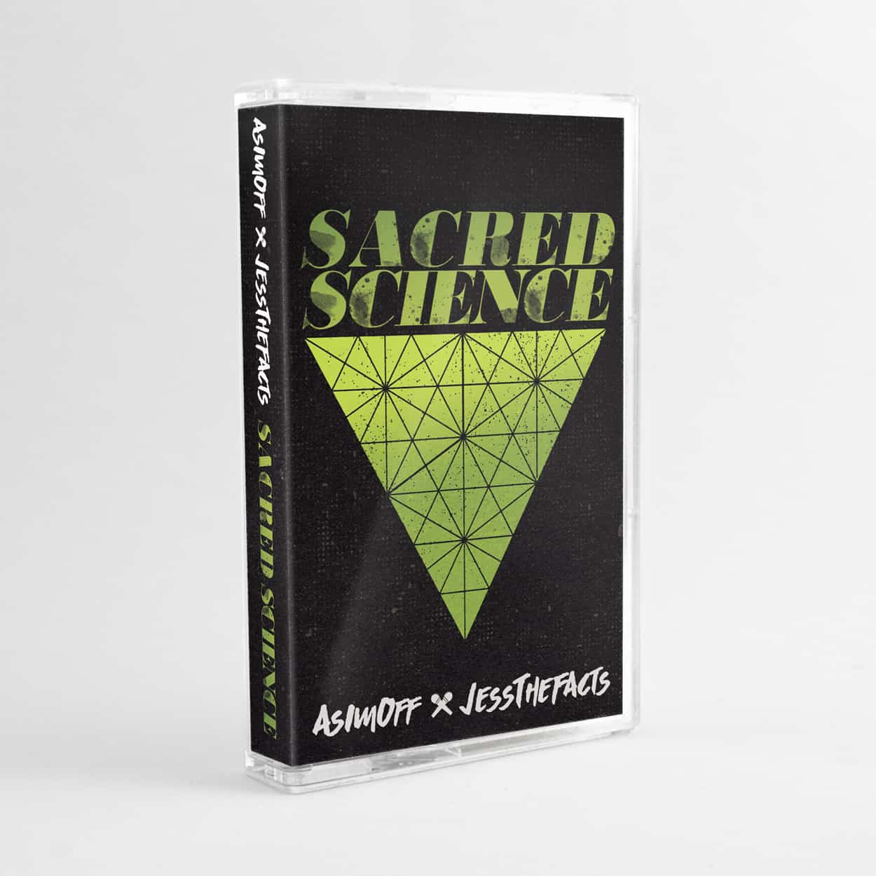 sacred science - cassette tape design