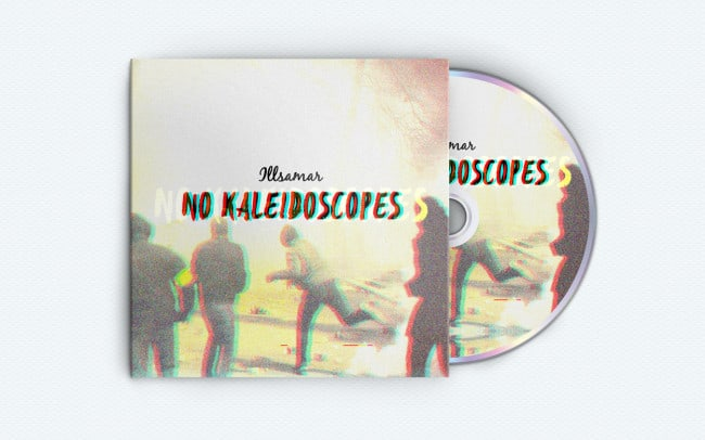 illsamar - no kaleidoscopes - album art design