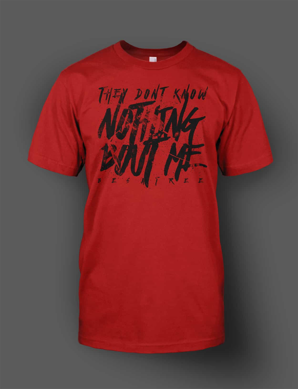 besatree - stay illuminated - nothing bout me - tshirt design